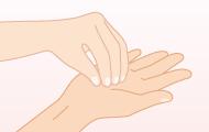 5. 指先は特に入念に洗う