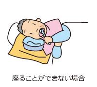 ベッドでの基本の姿勢