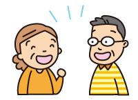嚥下体操を続けていくことは、食べるための筋肉のトレーニングだけではなく、笑顔をつくることや、楽しくおしゃべりをすることにもつながります。